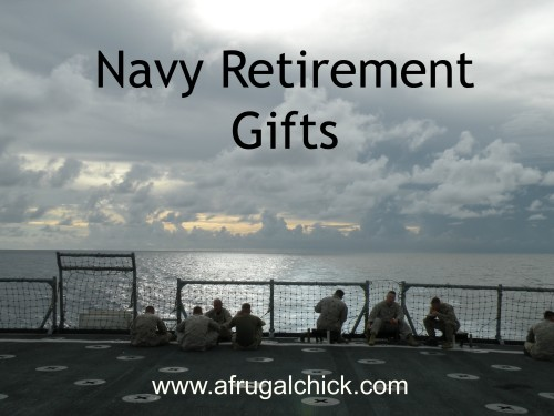 Post image for Navy Retirement Gift