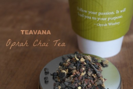 Post image for Starbucks: FREE Teavana Oprah Chai Tea for Mom