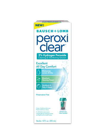 Post image for Target: FREE Bausch and Lomb Peroxi Clear Contact Solution