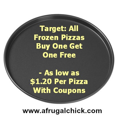 Post image for Target: All Frozen Pizzas Buy One Get One Free