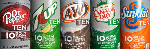 Post image for CVS: 7 Up Ten, A & W Ten, Canada Dry Ten and RC Ten Soda 12 Packs- $.14 Per Can