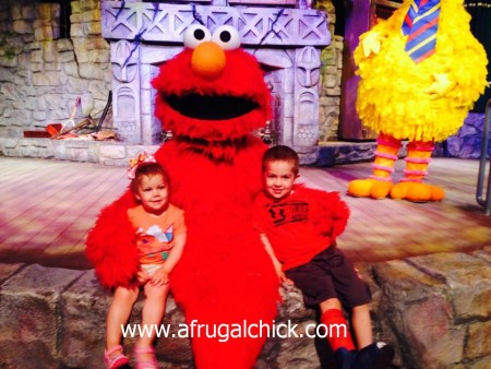 Post image for Dine With Elmo and Friends Review- Busch Gardens®