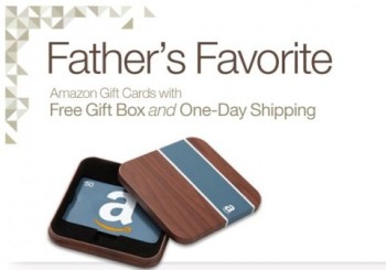 Post image for Amazon Gift Cards Make Great Last Minute Father's Day Presents