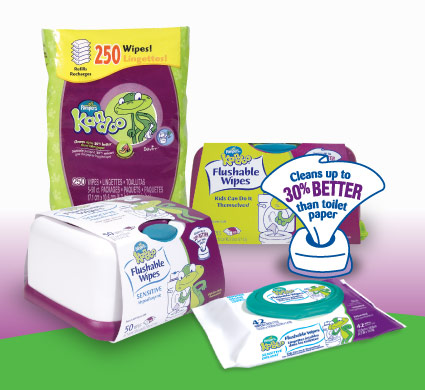 Post image for Target: Kandoo Flushable Wipes $.99