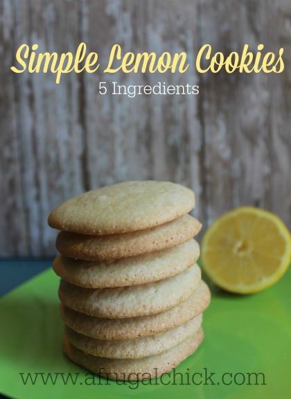 Post image for Lemon Sugar Cookie Recipe