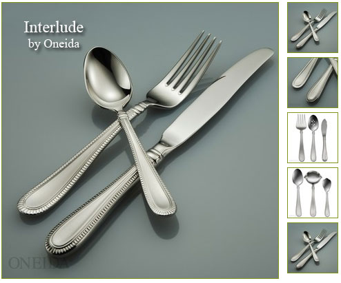 Post image for Oneida: 25% Off Flatware PLUS Free Shipping Today Only