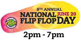 Post image for Tropical Smoothie Flip Flop Day 2014