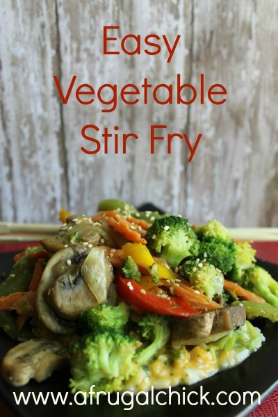 Post image for Veggie Stir Fry Recipe
