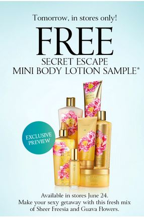 Post image for Victoria's Secret: Free Mini Body Lotion Sample (No Purchase Necessary)