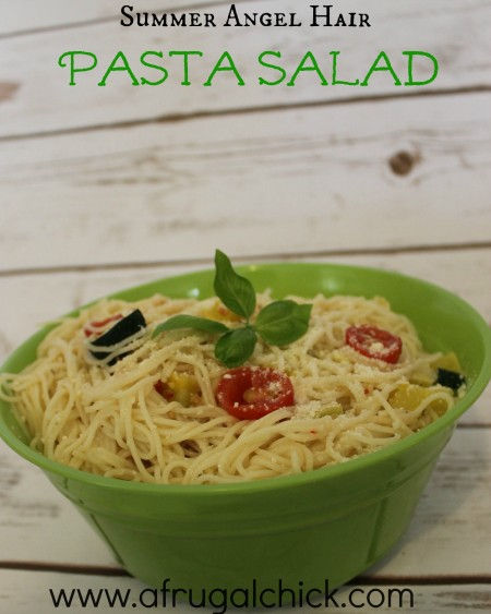 Post image for Angel Hair Pasta Salad Recipe