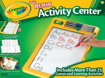 Post image for Amazon-Crayola Dry Erase Activity Center $9.75