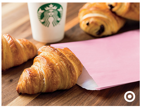 Post image for Target Starbucks: FREE Pastry With Purchase