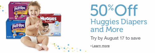 Post image for Still Available: New Amazon Mom Members Save 50% off Diapers