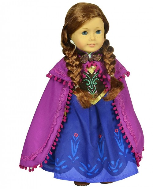 Post image for Frozen Elsa and Anna Outfits For Your American Girl Dolls