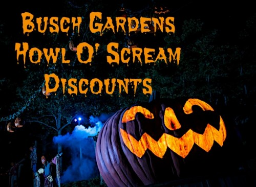Busch Gardens Williamsburg Howl O Scream Coupons A Frugal Chick