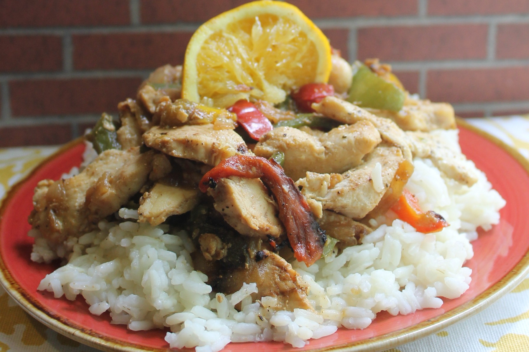 chicken stir fry horizontal