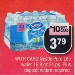 Post image for CVS: Stock Up On Nestle Pure Life Water