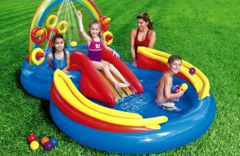 Post image for Amazon-Intex Rainbow Ring Pool Play Center $34.99