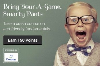 Post image for Recyclebank- Earn Up to 150 pts. with Bring Your A-Game, Smarty Pants
