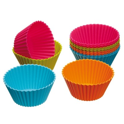 Post image for Amazon: Silicone Cupcake Cases, Pack of 12 $3.79 Shipped