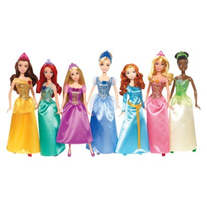 Post image for Target: Disney 7 Pack Princess Doll Set $32 (Reg. $80)