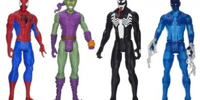 Marvel Ultimate Spider-Man Titan Hero Series Spider-Man Vs. Villains Showdown Pack