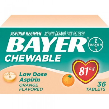 Post image for Target: Bayer Chewable Aspirin $.97