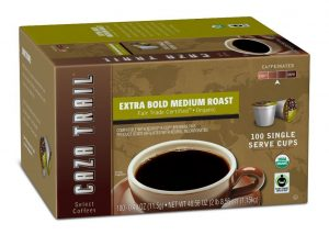 caza trail k cups
