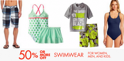 Post image for Amazon Deal of the Day: 50% off Swimsuits For Entire Family