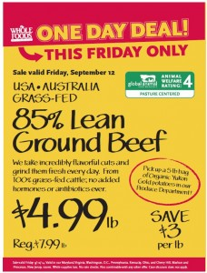 whole foods grass fed beef
