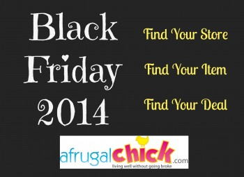 Black Friday 2014 Sales