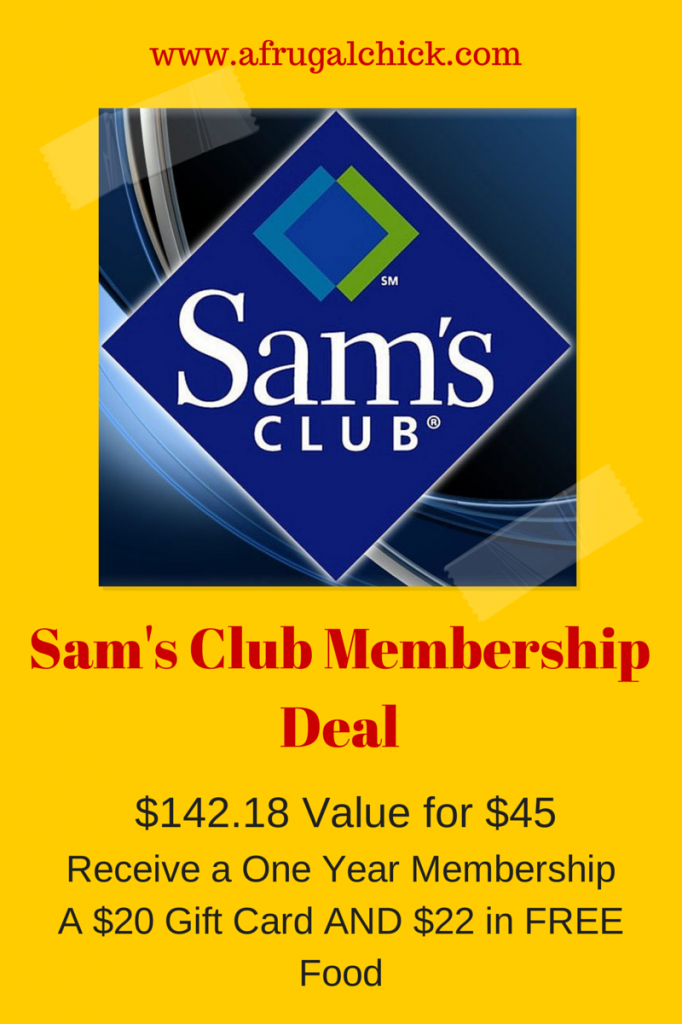 Sam's Club is a warehouse store that, like Costco, requires you to become a member and pay an annual fee. Sam's Club membership costs $45 a year, which is cheaper than Costco's $55 annual fee.