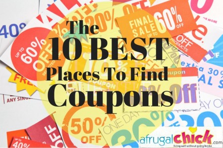 The Ten Best Places To Find Coupons