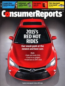 Consumer Reports Magazine Only For One Year