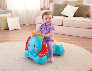 Amazon Fisher Price 3 In 1 Bounce Stride And Ride