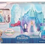 frozen magical lights palace