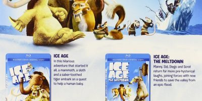 ice age four disc set