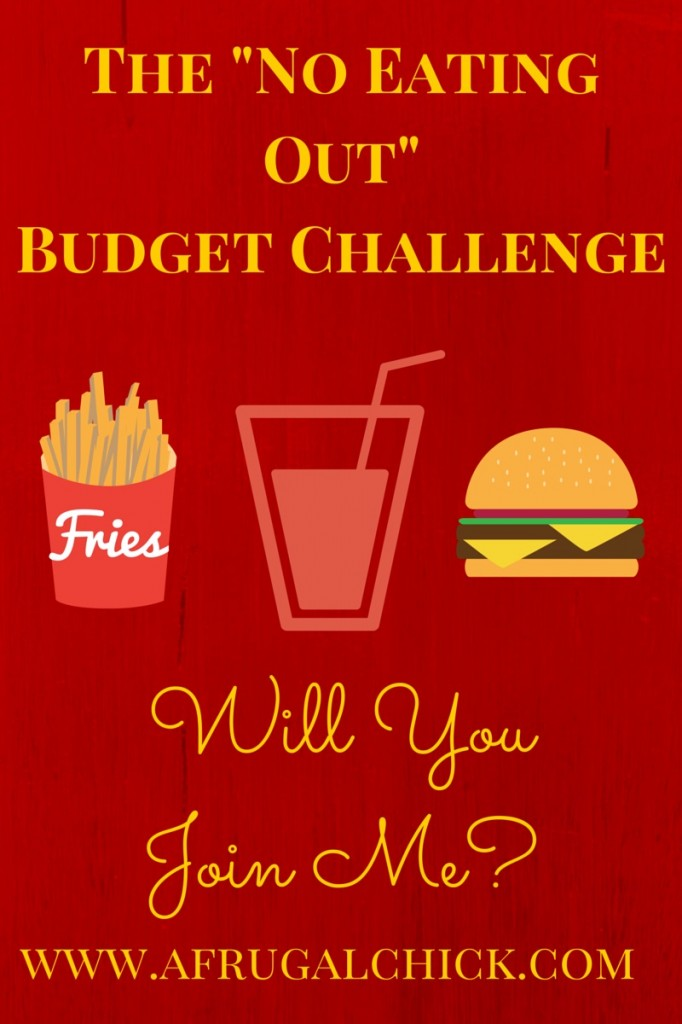 No Eating Out Budget
