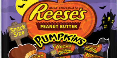 reeses pumpkins snack size