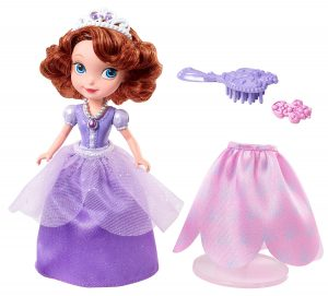 sofia the first curtsy doll