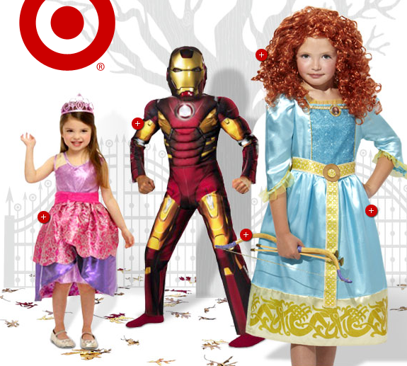 Target: Buy One Get One Free Halloween Costumes