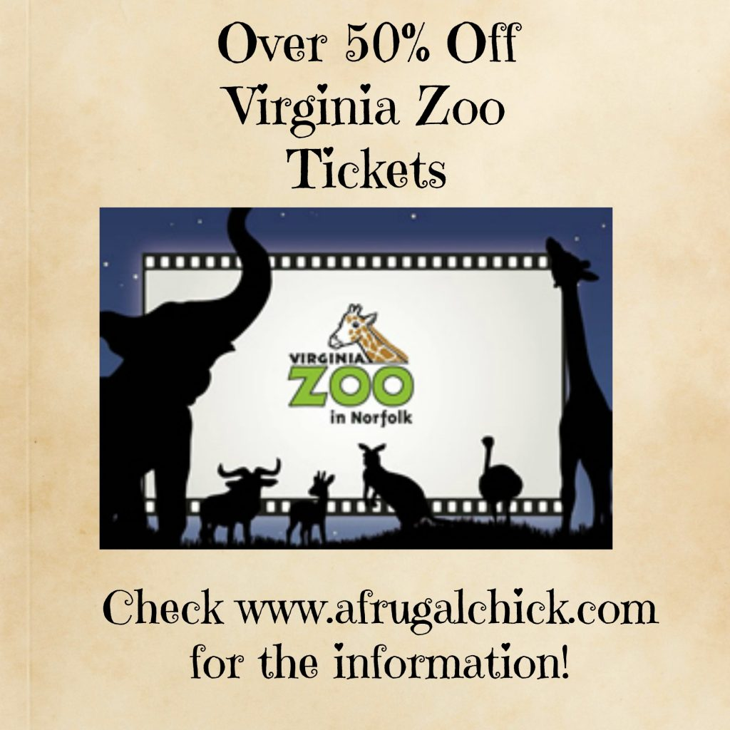 virginia zoo tickets