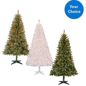 black friday now holiday time 65 pre lit christmas trees 39 shipped - Holiday Time Christmas Decorations