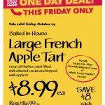 whole foods apple tart friday