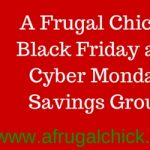 A Frugal Chick's Black Friday and Cyber Monday Facebook Group