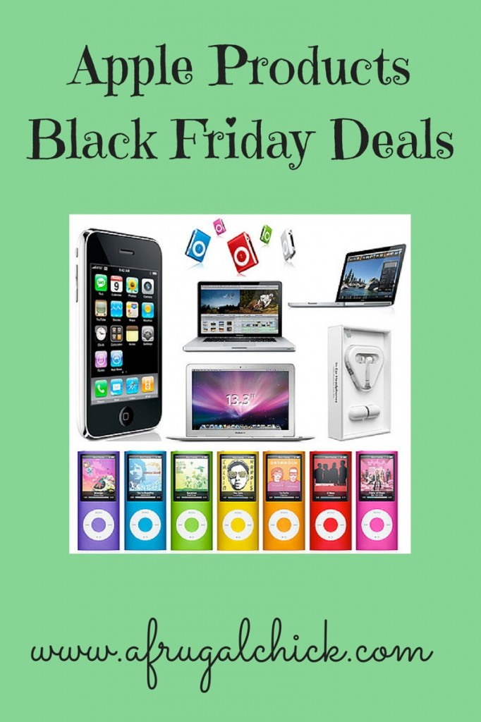 Apple Products Black Friday Deals