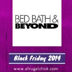 Bed Bath and Beyond Black Friday 2014