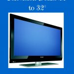 Black Friday Television Deals 22 to 32