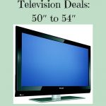 Black Friday Television Deals- 50 to 54