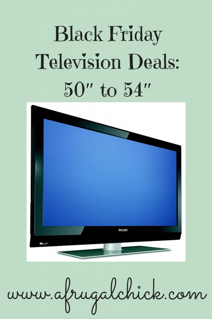 Black Friday Television Deals: 50\u2033 to 54\u2033